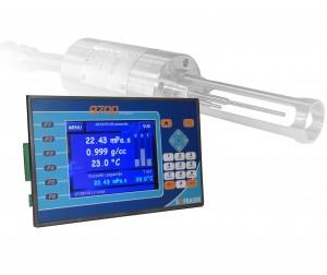 Sofraser 9701, processeur de viscosité et de densité